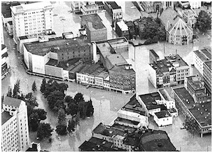 1964 major flood of the susquehanna and its tributaries