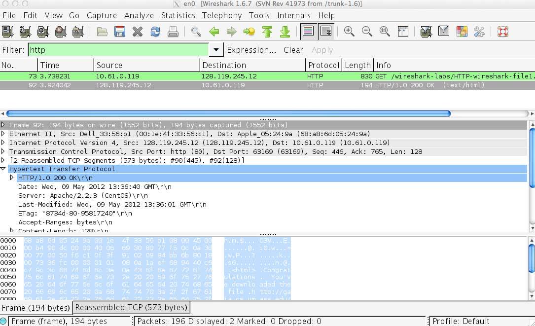 36 Wireshark Layout Filter