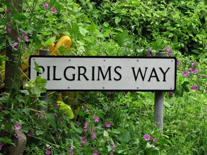 Les grands pèlerinages chrétiens à partir de l`Angleterre au Moyen-Âge - Canterbury -Terre-Sainte - Rome - Compostelle IMG_4215