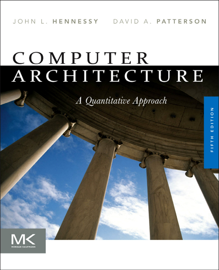Computer Architecture A Quantitative Approach (5th edition)-cover